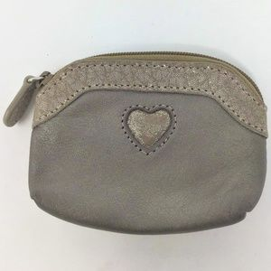 Brighton Leather Coin Purse with Heart